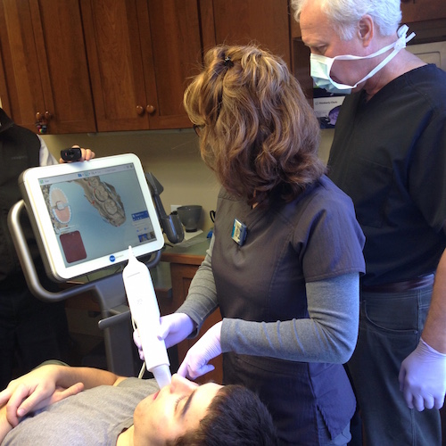 Using the iTero Intraoral Scanner